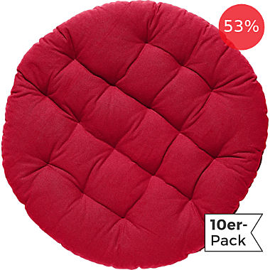 REDBEST chair cushion round 10-pack