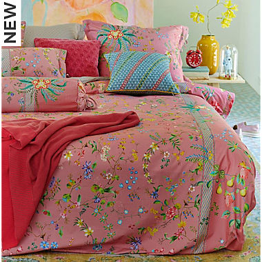 Pip percale reversible bedding