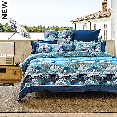 Bassetti fine cotton sateen duvet cover