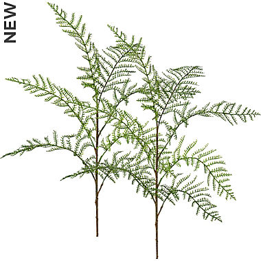 artificial plant fern branch 2-pack