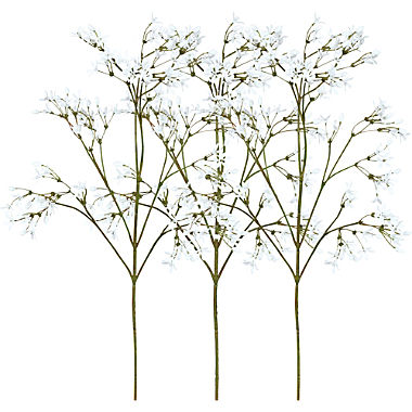 artificial plant jasmine branch 3-pack