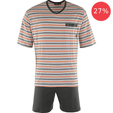 hajo single jersey men´s short pyjamas