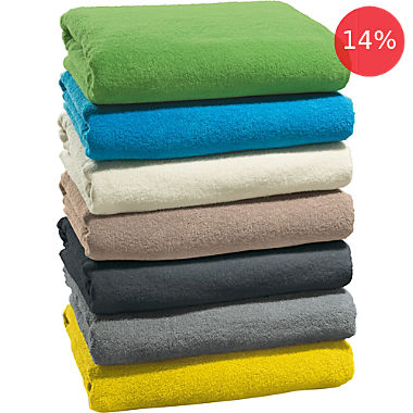 Erwin Müller 2-pack terry towelling blankets