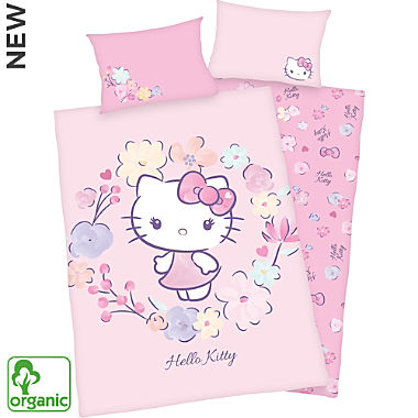 Herding renforcé organic reversible bed linen for children