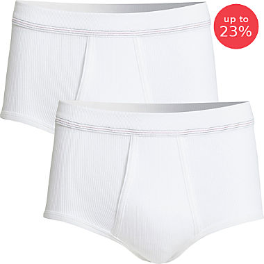 Conta briefs in double pack