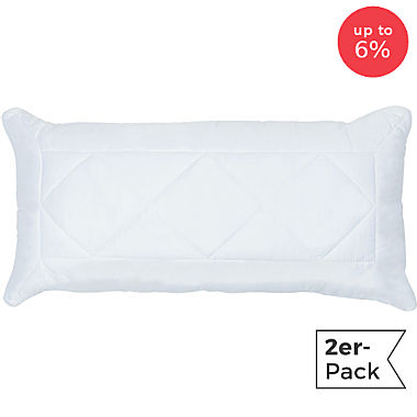 Pack of 2 Erwin Müller washable pillows