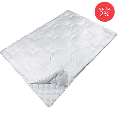 Pack of 2 Erwin Müller 4-seasons duvets