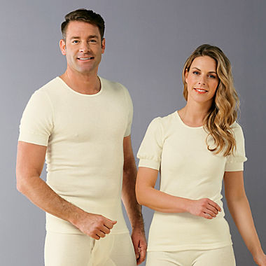 Angora short sleeve undershirt
