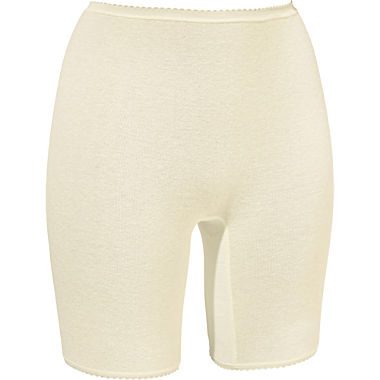 Angora briefs with short leg