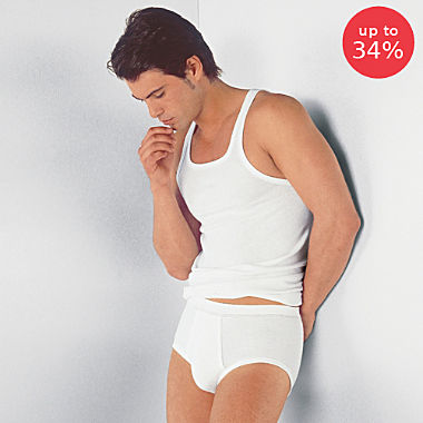 Con-ta 4-pack men's underwear vests