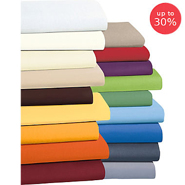 Erwin Müller terry stretch fitted sheet,