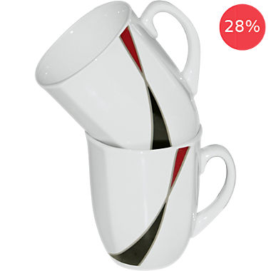 Erwin Müller 2-pack coffee mugs